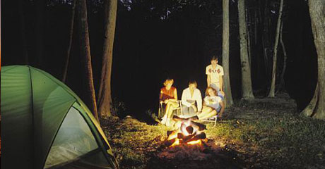 Night Camping Resorts in Dandeli
